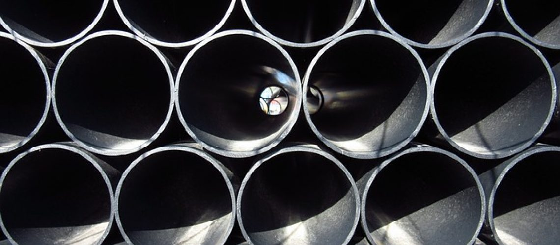 צינורות פח עגולים